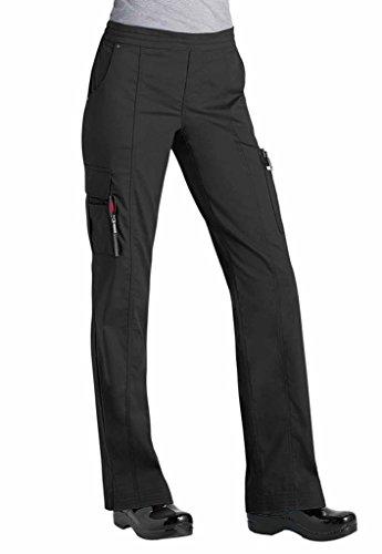 Beyond Scrubs Women's Blaire Utility Inspired Scrub Pants M Black