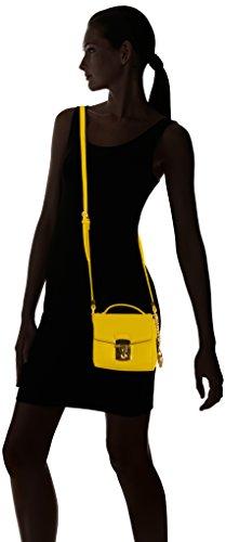 Trussardi 75b495xx53, Borsa a Tracolla Donna, 17x16x10 cm (W x H x L) Multicolore (Yellow P16)