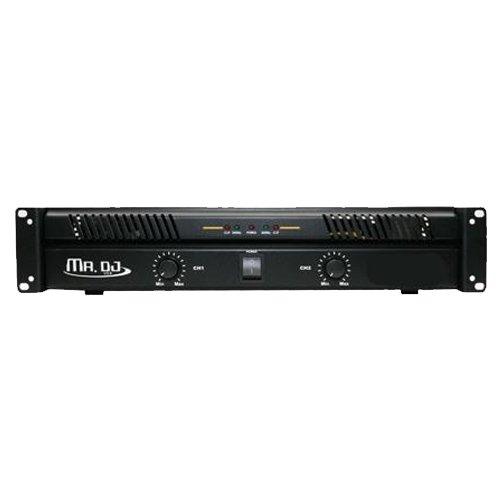 Mr. Dj AMP5800 2 Channel Professional Power Amplifier with 5800 Watts Maximum Power Professional Power Amp