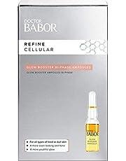 Babor Doctor Glow Booster Bi-Fase Ampoules, Bij Droge Huid, Serum Met Plantaardige Oliën, Voor Een Gladde Huid, 7 Ml
