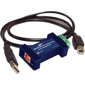 B+B Smartworx - 485USBTB-4W - B&B USB TO SERIAL 1 PORT, 4 WIRE, TB - 1 Pack - 1 x Type B Female USB - 1 x Terminal Block Serial by B Plus B Smartworx