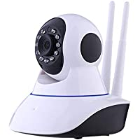 Wifi IP Camera Wireless Camera 720P HD Home Security Systems Surveillance With Two-Way Audio Night Vision
