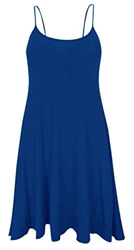 Donna Baliza Blu Vestito Vestito Reale Donna Baliza qEwIHXB