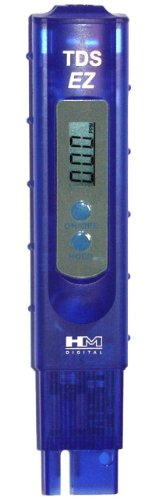 HM Digital TDS-EZ Water Quality TDS Tester, 0-9990 ppm Measurement Range , 1 ppm Resolution, +/- 3% Readout Accuracy, 4-pack
