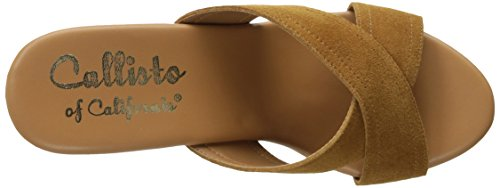 Callisto Delsee Womens Suede Tan Delsee f6zfwP