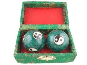 JapanBargain Baoding Balls Chinese Health Exercise Stress Balls, ()