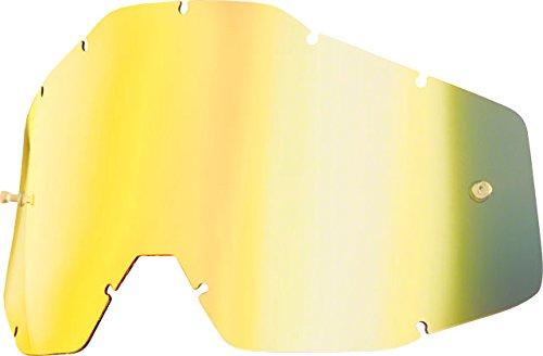 100% Replacment Lens-Accuri/Racecraft/Strata-Mirror - Goggles Percent 100