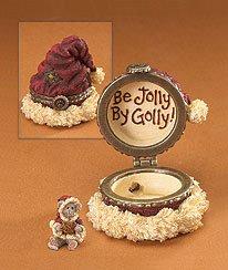 Boxes Boyds Treasure Mcnibble (Kringle's Cap with Jolly Mcnibble Treasure Box, Boyds Bear 392182)