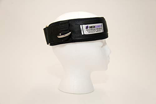 Medicordz Head Strap, Neck Strengthening, Padded Strap For Comfort, Upper Back Stretching