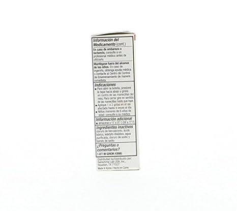 Amazon.com: Optical 20/20 Red Eyes - Alivia el enrojecimiento de Ojos 0.5 Rojo (Pack of 30): Health & Personal Care