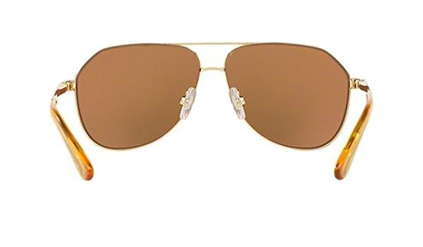 342eea83c2a Amazon.com  Sunglasses Dolce   Gabbana DG 2144 02 N0 GOLD  Clothing
