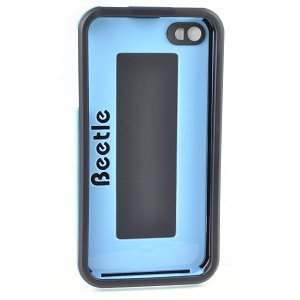 AGF Beetle Shell Protective Case for iPhone 4/4S (Black/Blue) – Keep Your iPhone 4/4S Protected From Scratches & Dust! Review