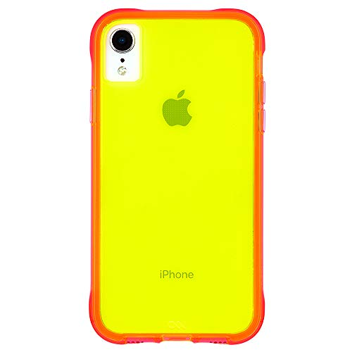 Case-Mate - iPhone XR Case - TOUGH - iPhone 6.1 - Green/Pink Neon