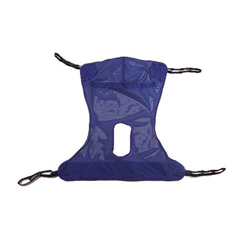 Invacare Compatible Mesh Full Body Sling with Commode Opening (Medium 53