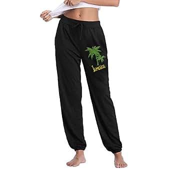 amazoncom bing4bing palm tree jamaica girls jogger