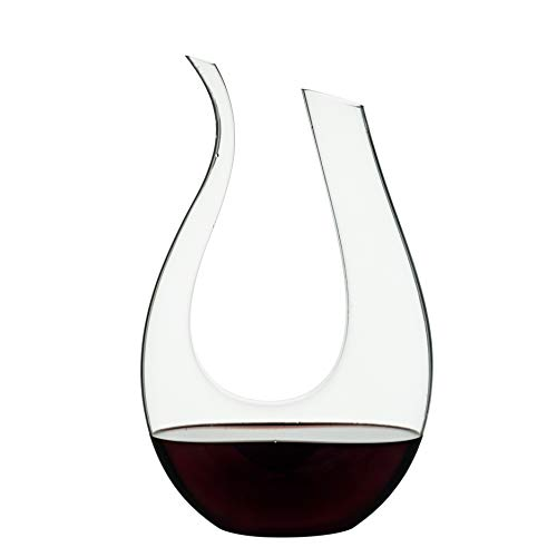 Wine Decanter, EraVino Premium Horn Wine Decanter - Crystal Wine Decanter.