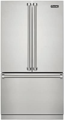 Viking RVRF3361SS 3 Series 36 Inch Counter Depth French Door Refrigerator with 22.1 cu. ft. Total Capacity in Stainless Steel