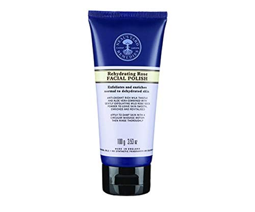 NEAL'S YARD REMEDIES Rehydrating Rose Facial Polish 100g NEAL' S YARD REMEDIES