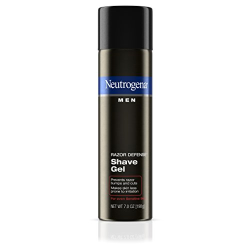 Neutrogena Men Razor Defense Shave Gel For Sensitive Skin, 7 Oz. (Pack of 3)