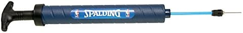 Spalding 300163901 Hinchador de Balones, Unisex Adulto, Azul, Talla Única