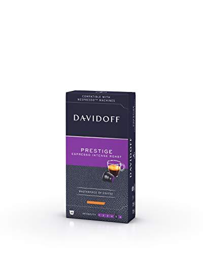 Davidoff Cápsulas de Café Prestige, Espresso Intenso Tostado, 55 g