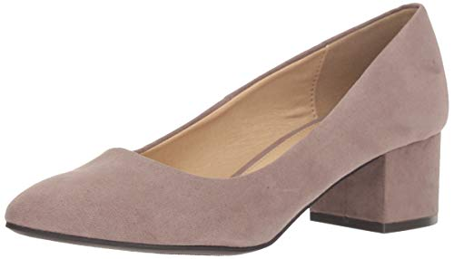 CL by Chinese Laundry Women's Highest Dress Pump, Pebble Taupe Suede, 9 M US -