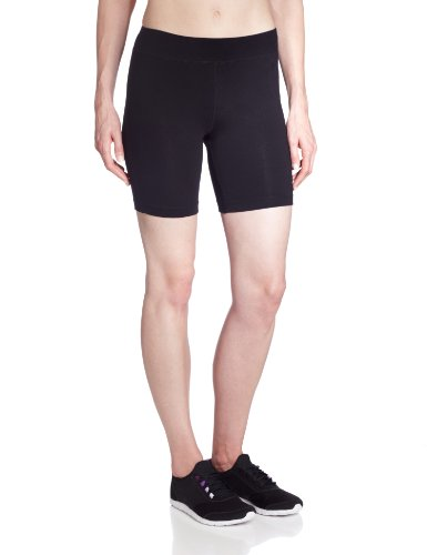 Spalding Women's 7 Inch Bike Short, Black, (Bike Shorts Women Spandex)