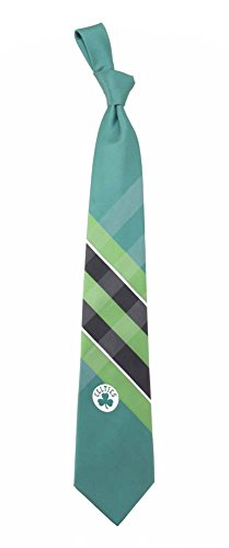 NBA Woven Poly Grid Necktie With Team Logo