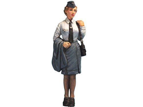 Aurora Model 1/35 Figures WWII German Air Signals Auxiliaries 1/32 Metal (Aurora Womens Figure)