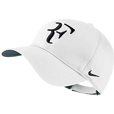 Buy Nike Roger Federer Hybrid Cap (White and Black) Online at Low Prices in  India - Amazon.in 153308550d14