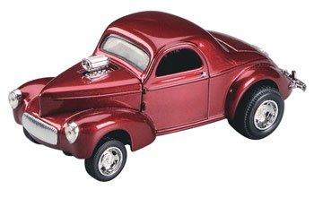 430011 1/43 '41 Willys Coupe Dark Metallic Red -