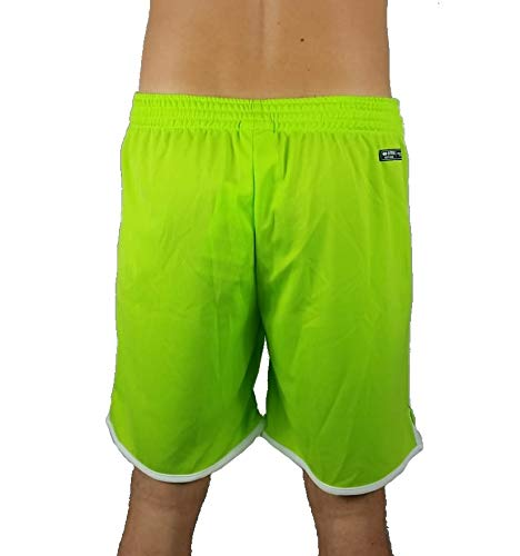 Uomo Verde Portogallo Pantaloncino Short Porter Sport Ragazzo Essential Mare Fluo Errea Republic OXqzaw