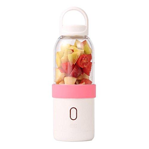 éLectrique Portable Centrifugeuse Fruits Et LéGumes Quickclean Nettoyage 200W Sans BPA Juicer Extracteur MéNage , Pink