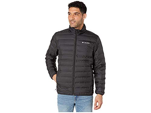 Columbia Lake 22 Down Jacket - Men's Medium Black (Down Men Large Jacket)