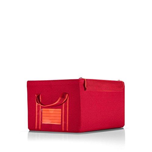 reisenthel Storagebox S, Small Collapsible Fabric Bin with Zippered Lid, (Reisenthel Collapsible)