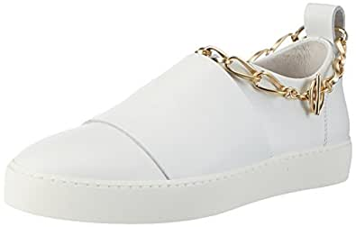 Stokton 103-d, Zapatillas Altas para Mujer, Blanco (Bianco), 38 EU
