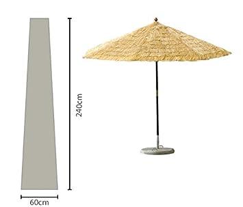Grasekamp Sonnenschirm Hulle 450 Cm Plane Haube Schutzhulle Weiss