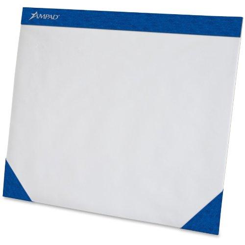 Ampad Desk Pad,Size  22 x 17,  No Ruling, 75 Sheets per Pad (Two 24 Sheet Pads)