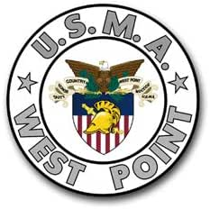 Window Bumper Sticker Military Army West Point Black Knights Sword NEW Decal
