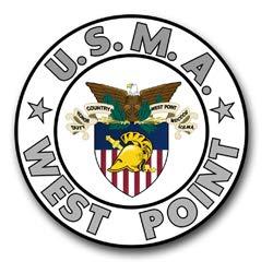 United States Military Academy West Point (USMA) Window Bumper Sticker Decal 3.8