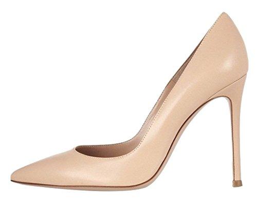 Kolnoo pour beiges fermées Chaussures femmes wrxpOwq