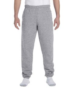 JERZEES SUPER SWEATS - Sweatpant with Pockets. 4850MP - Large - Oxford from Jerzees