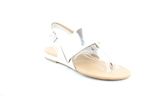 franco-sarto-womens-gesso-slingback-thong-sandals-silver-size-65