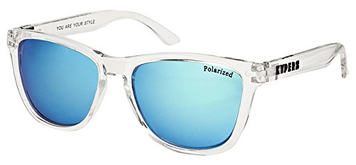 KYPERS Caipirinha-CA009 Gafas de Sol, Clear Ice Blue Mirror ...