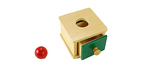 Color Aleatorio Montessori Kids Toy Baby Caja De Monedas De Madera Piggy Bank Aprendizaje De Juguetes Educativos Para La Formación Preescolar (Para Niños Mayores De 3 Años): Amazon.es: Hogar