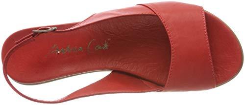 rot Conti Tacco Andrea Col Scarpe Rosso 1745712 021 Donna z0qwd0x4