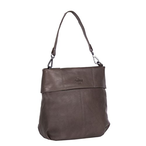 Bag Brand Leather Taupe Shoulder Cm 30 Maud The Chesterfield fpxHqgc7