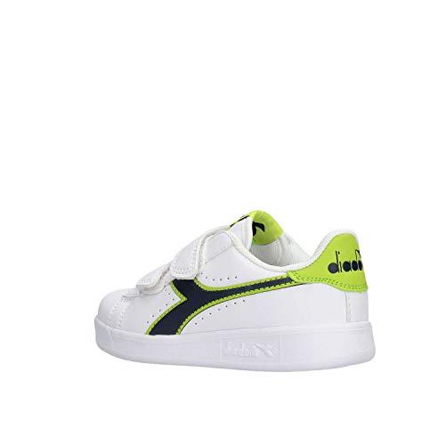 Diadora Game Lime 173324 Bianco Ps P rrxPw7p