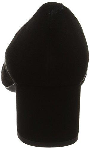 KS Black Noir Jarzu Escarpins Femme Unisa qBw716