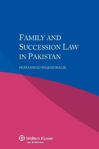 Family and Succession Law in Pakistan